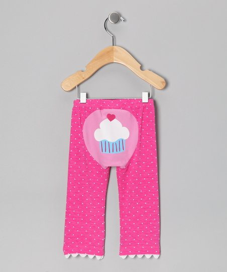 Pink Polka Dot Just Desserts Pants - Infant & Toddler