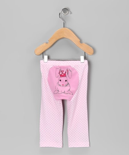 Pink Polka Dot Bunny Foo Foo Pants - Infant & Toddler
