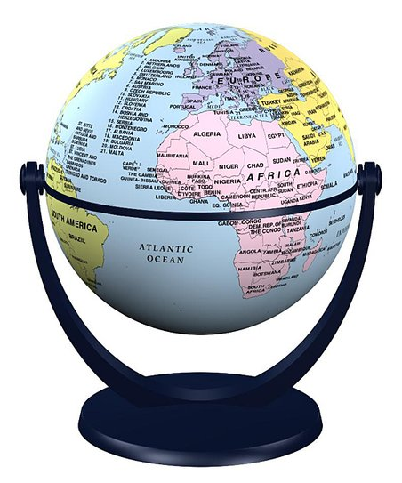 Junior Countries Mini Globe