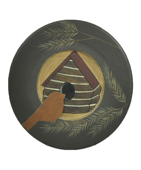 Bird House Star Decorative Plate