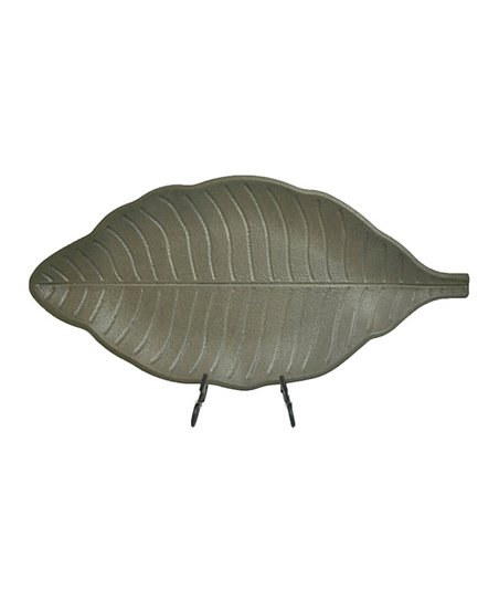 Dusty Green Leaf Platter