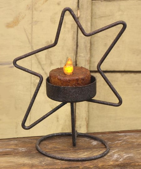 Floating Star Candleholder