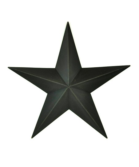 Black Medium Star Wall Art