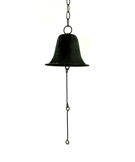 Antique Rust School Bell