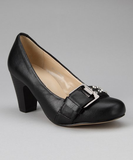donnabella Black Queen Pump