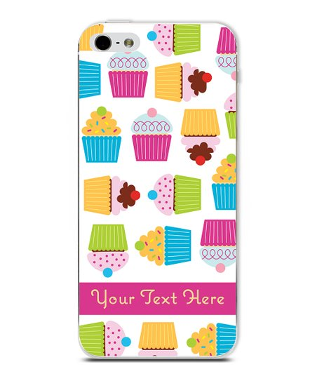 Cupcake Personalized Case for iPhone 5