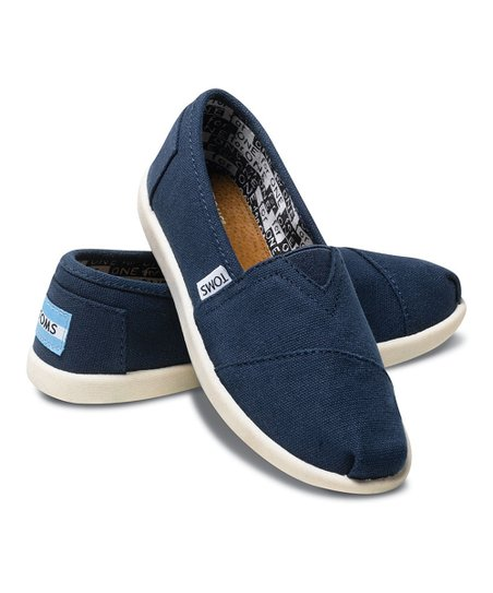 Navy Canvas Classics - Youth