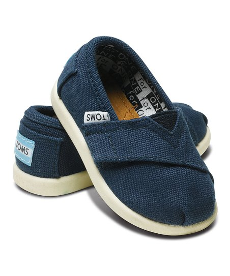 Navy Canvas Classics - Tiny
