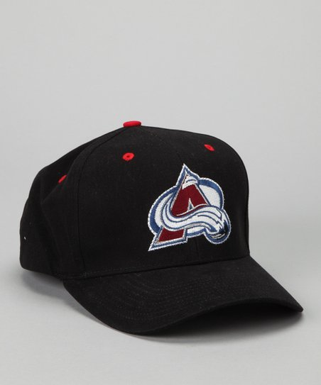Black Colorado Avalanche Lighted Baseball Hat
