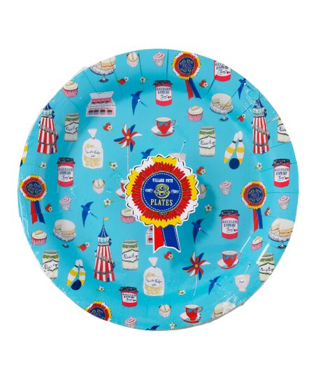 Village Fete Paper Plate Set
