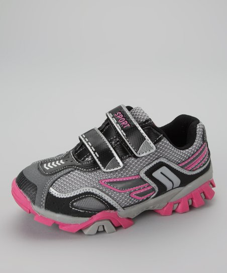 Black & Light Gray Running Shoe