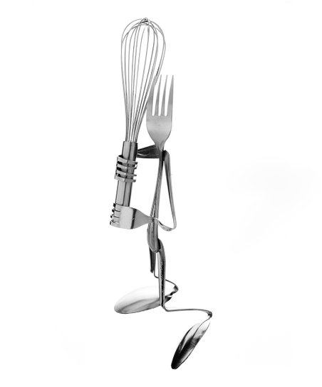 Fork Batter Up Sculpture