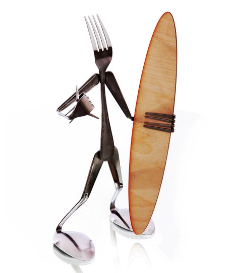 Fork Surfer Sculpture