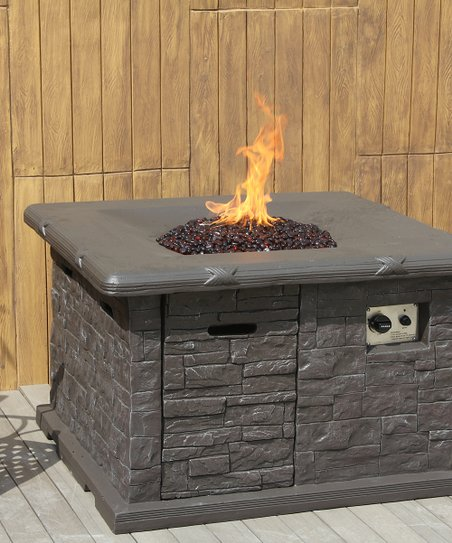 Gray Manele Fire Pit