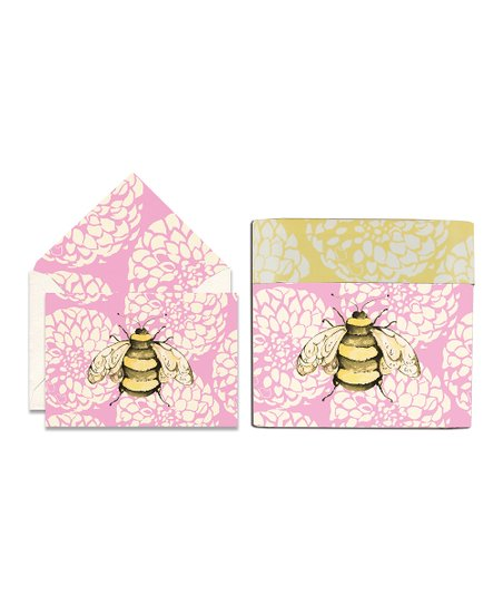 Cid Pear Bee Sweet Notes Note Card Set
