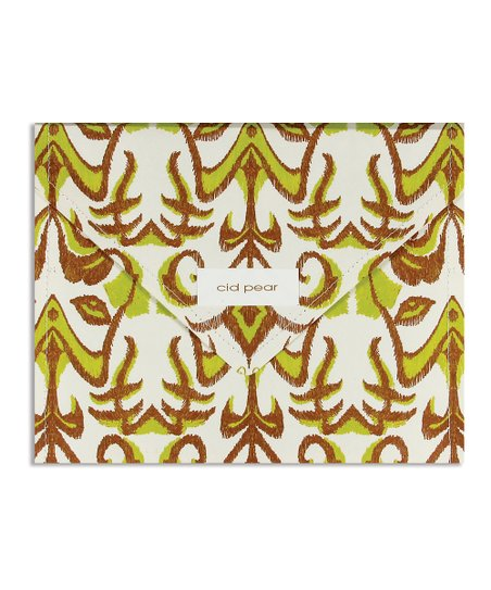 Cid Pear Ikat Stationery Set