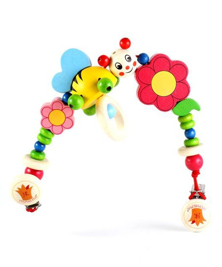 Smiley Bee Stroller String