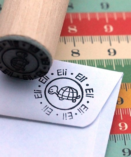 Turtle Personalized Stamp
