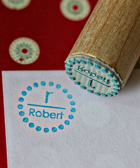 Dot Personalized Stamp