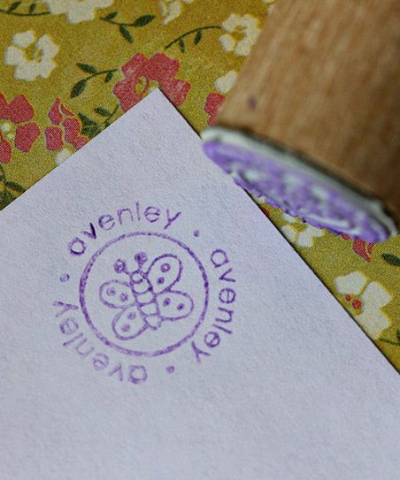 Butterfly Personalized Stamp