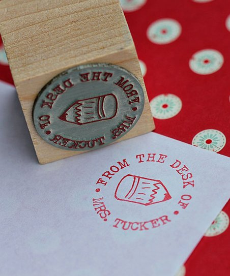 Pencil Personalized Stamp