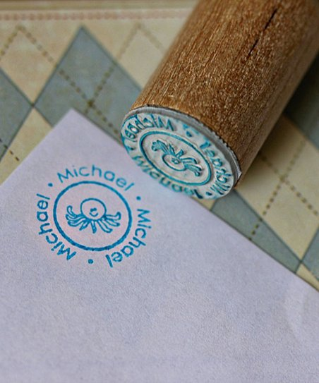 Octopus Personalized Stamp