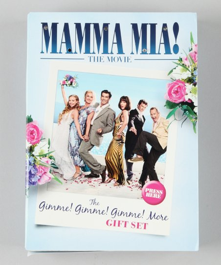 Mamma Mia! The Movie Gimme! Gimme! Gimme! DVD Gift Set