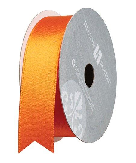 Orange Ribbon Spool - Set of Three