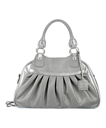 Mamami Silver Shivali Shimmer Baby Diaper Bag