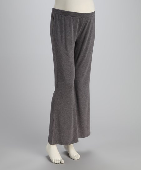 Gray Basic Maternity Lounge Pants