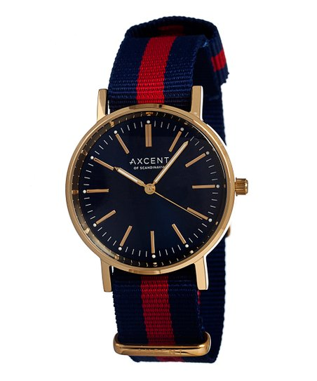 Blue &amp; Red Vintage Watch