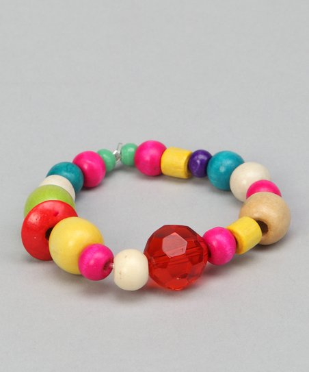 Bright Rock Candy Beaded Bracelet