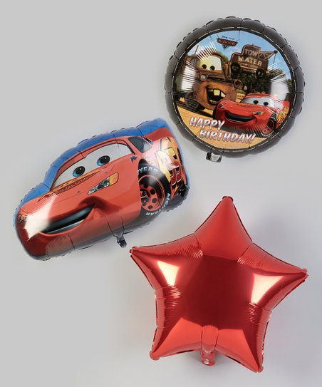 Cars 2 Balloon Bouquet