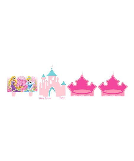 Disney Princess Mini Molded Cake Candle