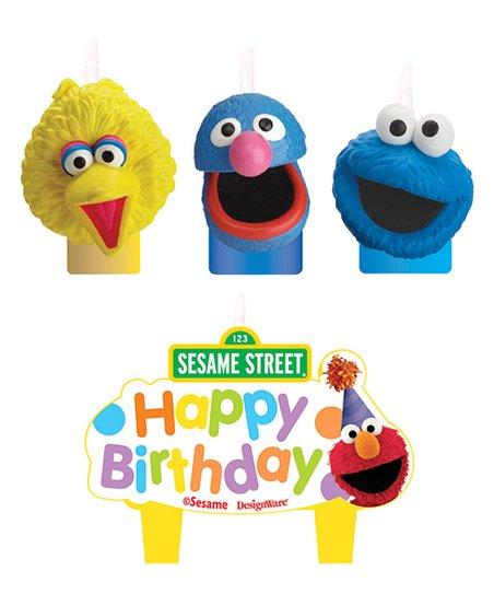 Muppet Molded Cake Candle Set