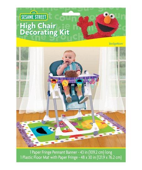 Sesame Street Highchair Decorating Kit