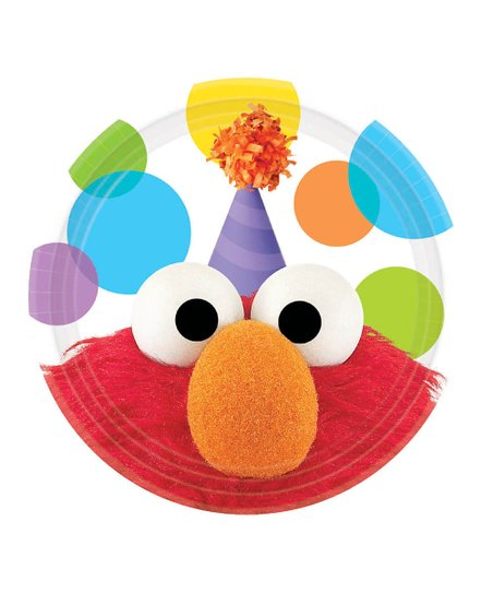 """Elmo 7"""" Party Plate – Set of 16"""