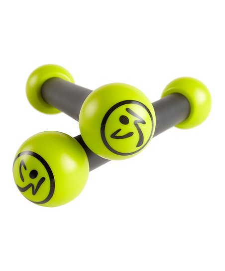 Green Zumba 1-Pound Toning Sticks