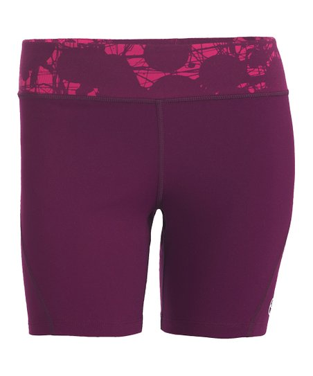 Plum Strut Shorts