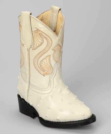 Bone Avestruz Boot