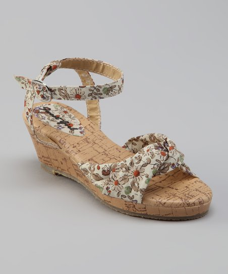 Sweet Girl Beige Cutie Sandal