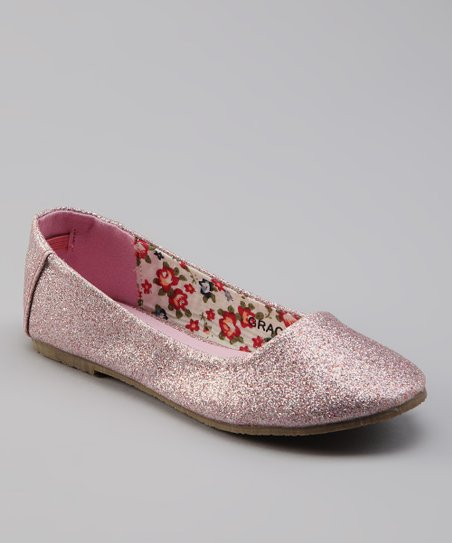Sweet Girl Pink Grace Flat