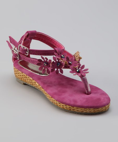 Sweet Girl Fuchsia Pie Sandal