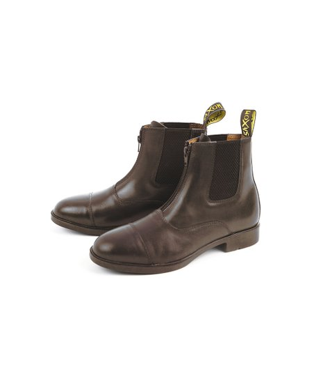 Brown Saxon Paddock Boot - Kids