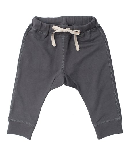 Dark Gray Organic Sweatpants - Infant, Toddler &amp; Kids