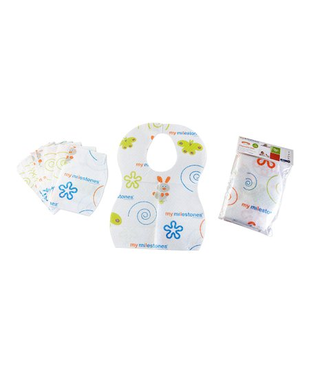 My Milestones Disposable Bib - Set of 36