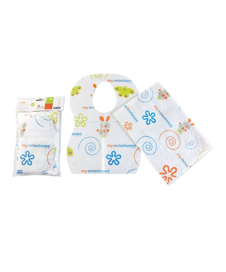 My Milestones Disposable Bib & Table Mat Set