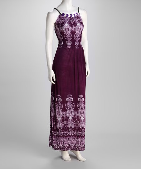 Purple Lavish Beaded Dress