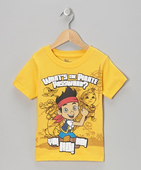 Yellow 'Yo! Ho! Ho!' Tee - Toddler