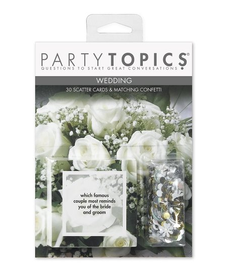 Wedding Scatter Cards